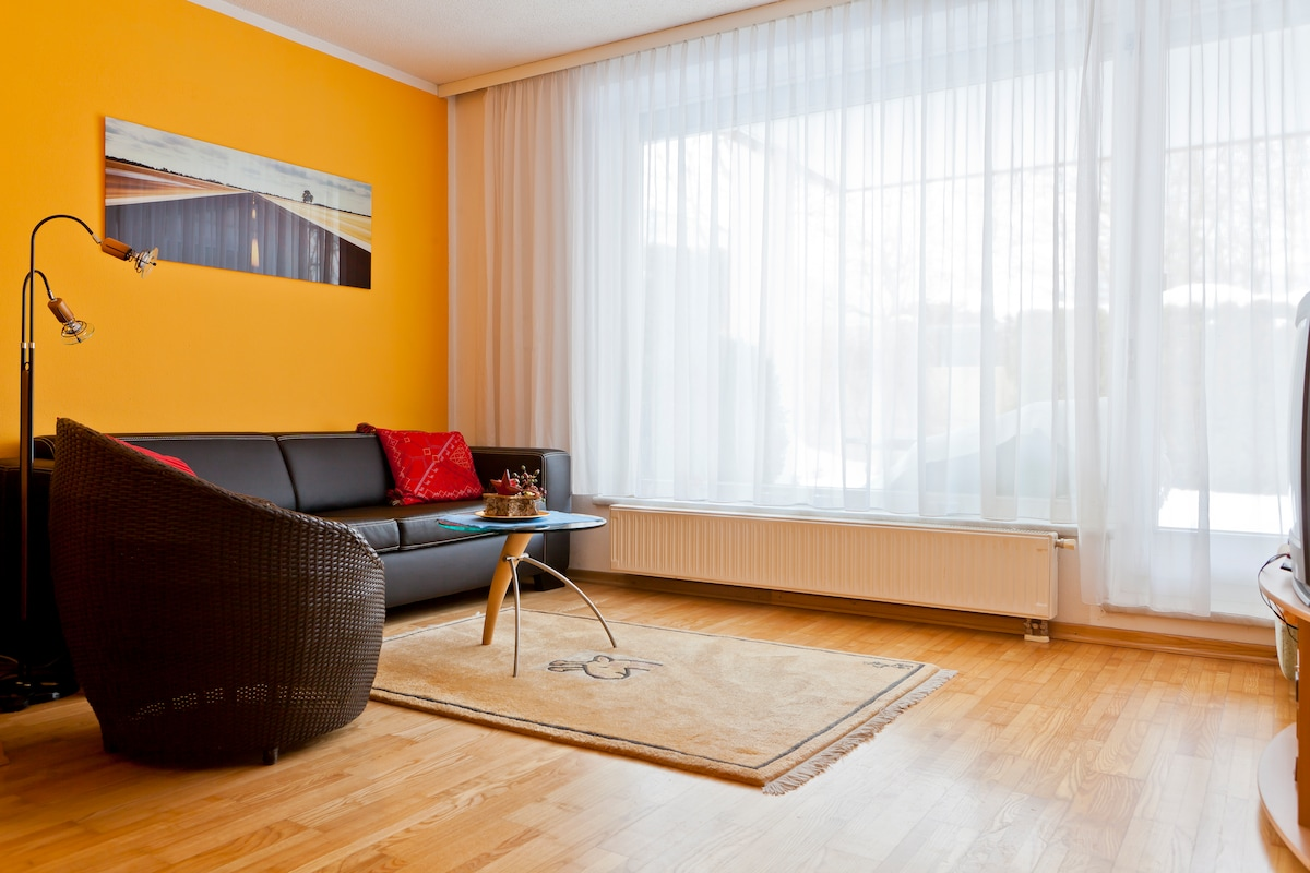 Cozy flat with lovely garden 150m2