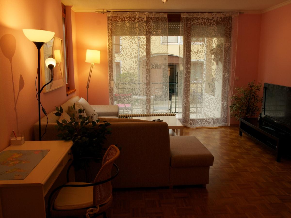 Beautiful, spacey & quiet apartment