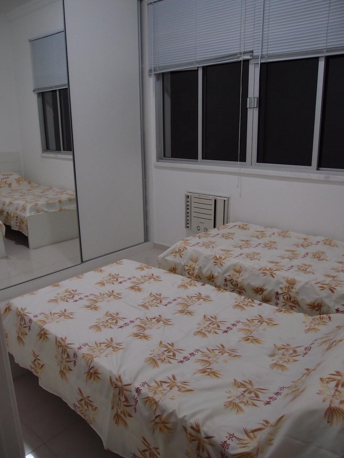 2 beds room in Copacabana
