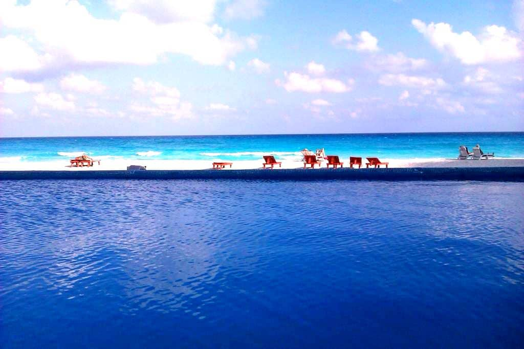 Estudio vista al mar caribe CANCUN - Cancún - Appartement