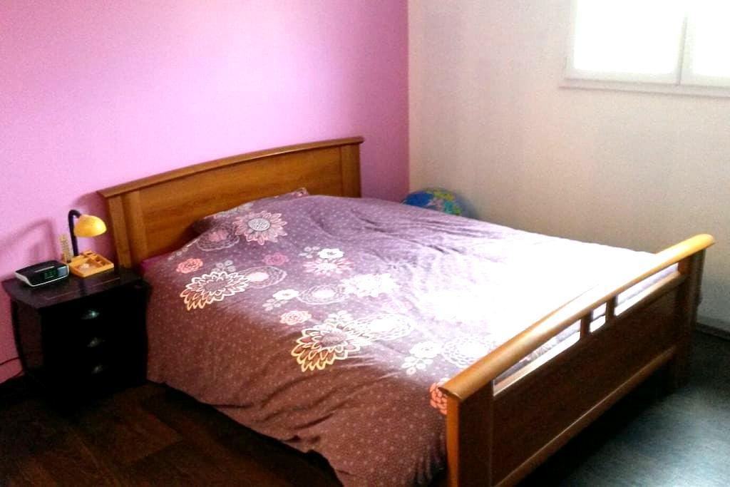Grande chambre/suite avec SDB privée - Saint-Florent-le-Vieil - Apartment
