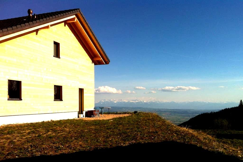 Fantastic view over the Alps - Les Rasses - Bed & Breakfast