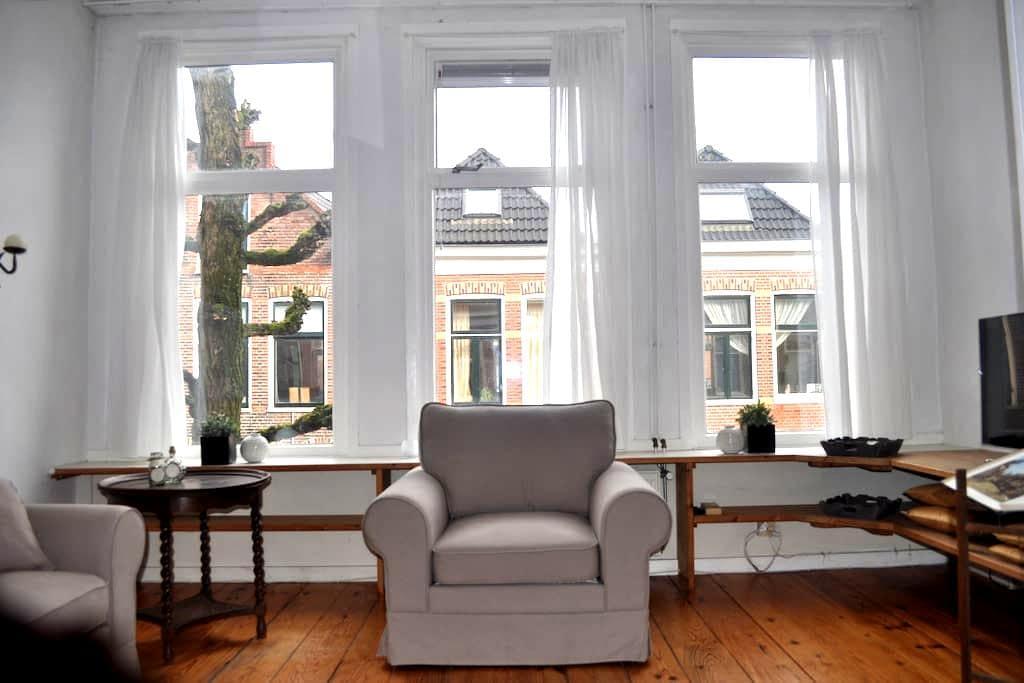 Bovenwoning in charmante wijk - Groningen - Apartment