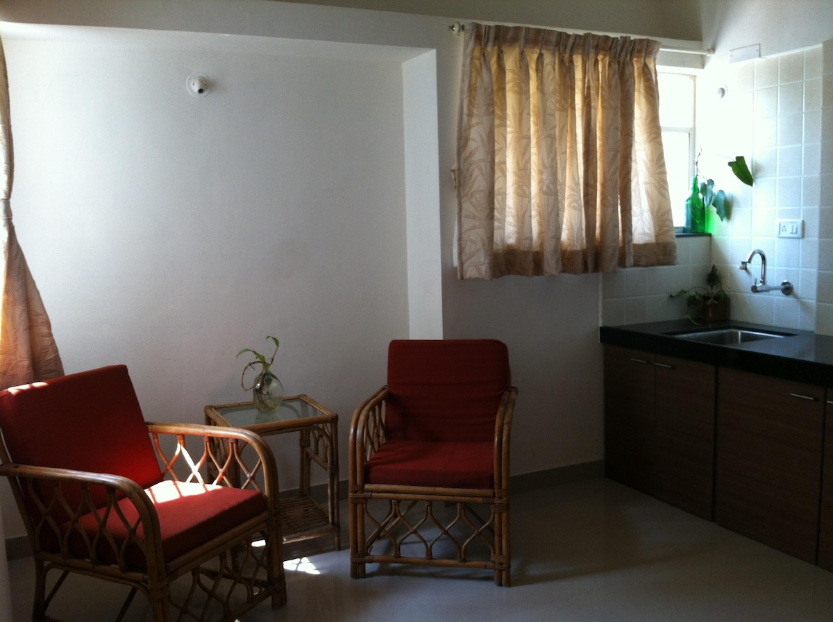 Serviced Studio 1BHK for Females