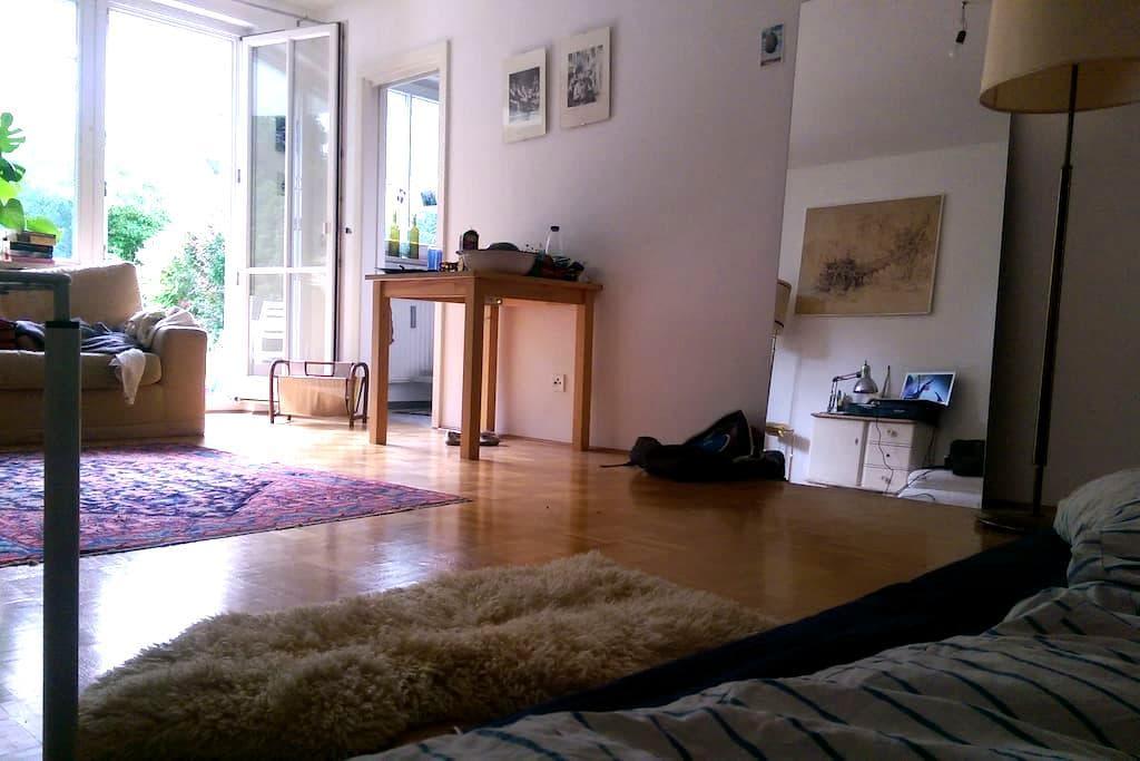 Gemütliche 1-Zimmer-Whg. MIT Garten! - Munique - Apartamento