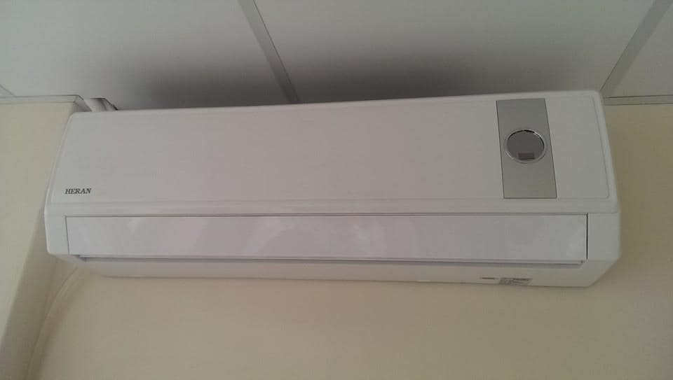 Air conditioners in all bedrooms