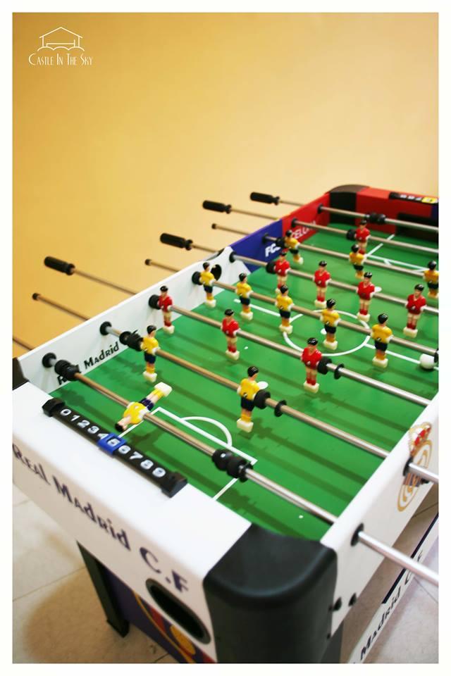 Foosball table!