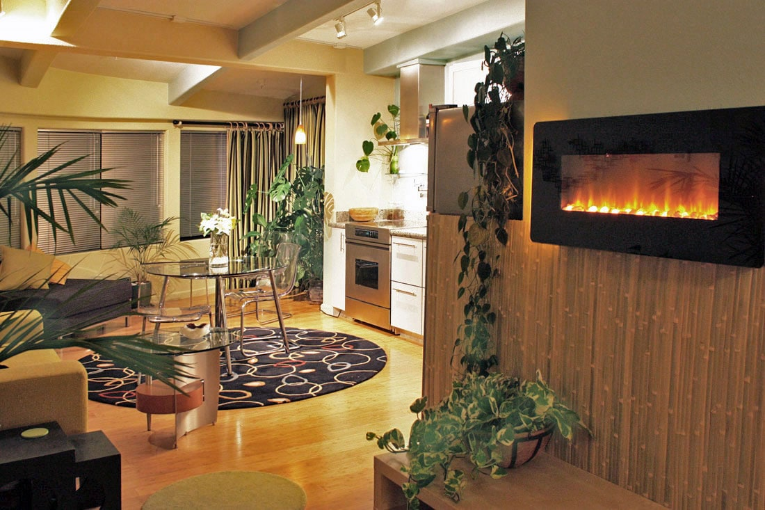 Romantic Ambient Fireplace