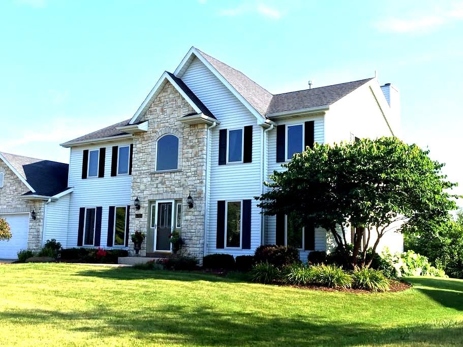A large space for a large family - Pleasant Prairie