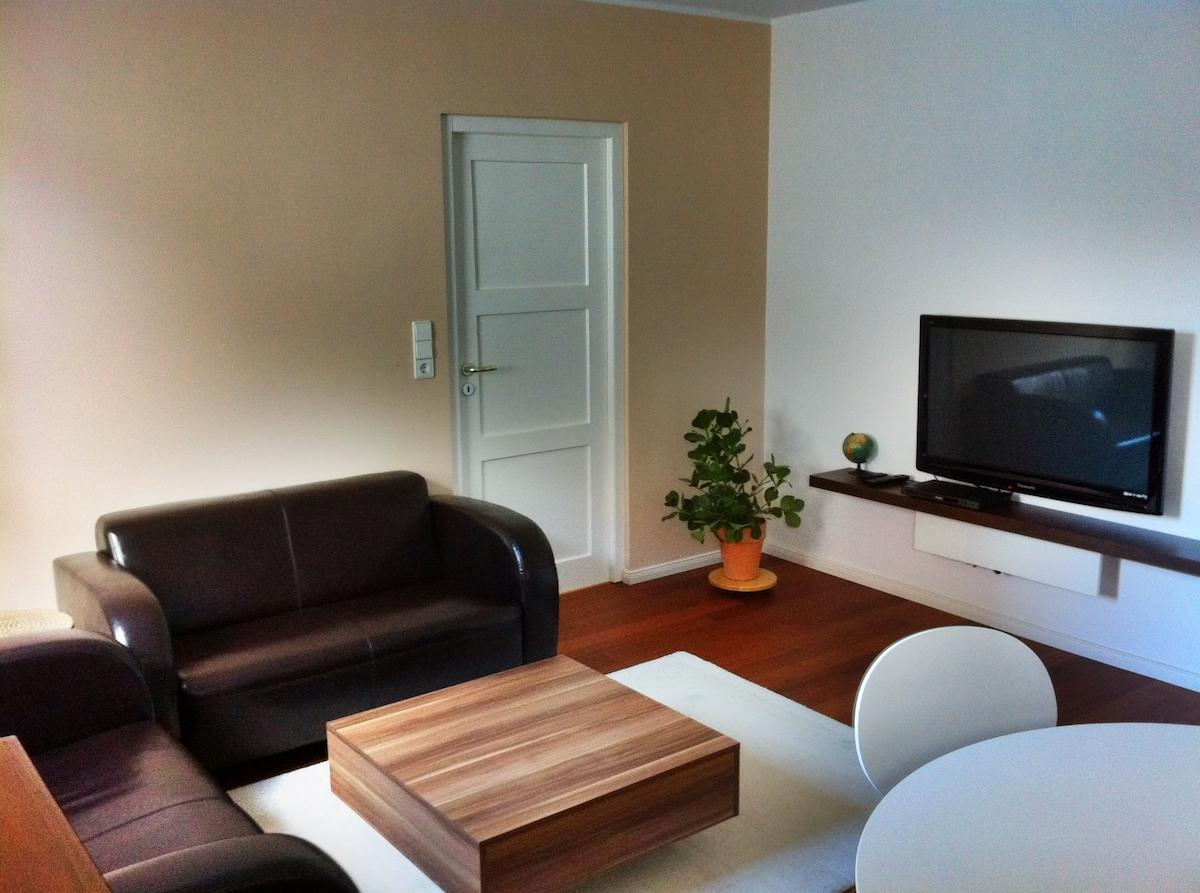 TV, DVD and of course a free Wifi Access is included in the price!