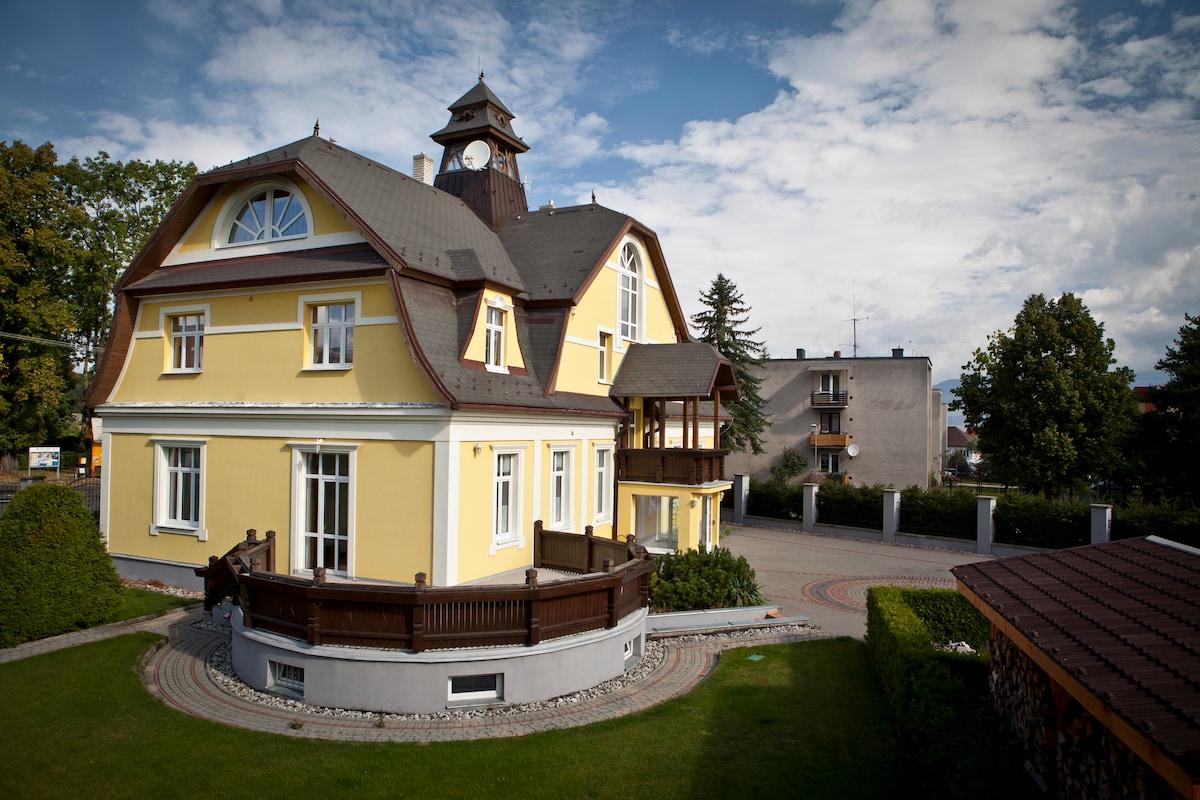 Vila Demanova, idealne miesto na dovolenku pre rodiny s detmi, priatelov, firemne akcie