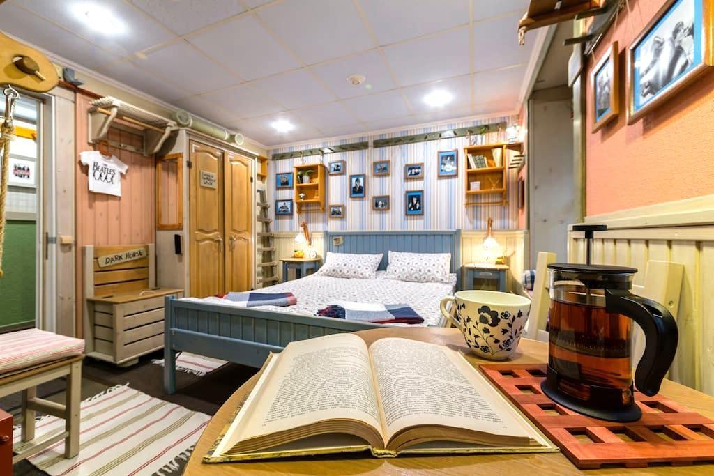 #3. Тихо, Чисто, Уютно. Ванная в номере! Центр - Sankt-Peterburg - Rumah Tamu