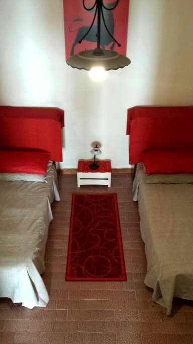 25€ Stanza 2 lettini+bagno privato - Alguer - Casa