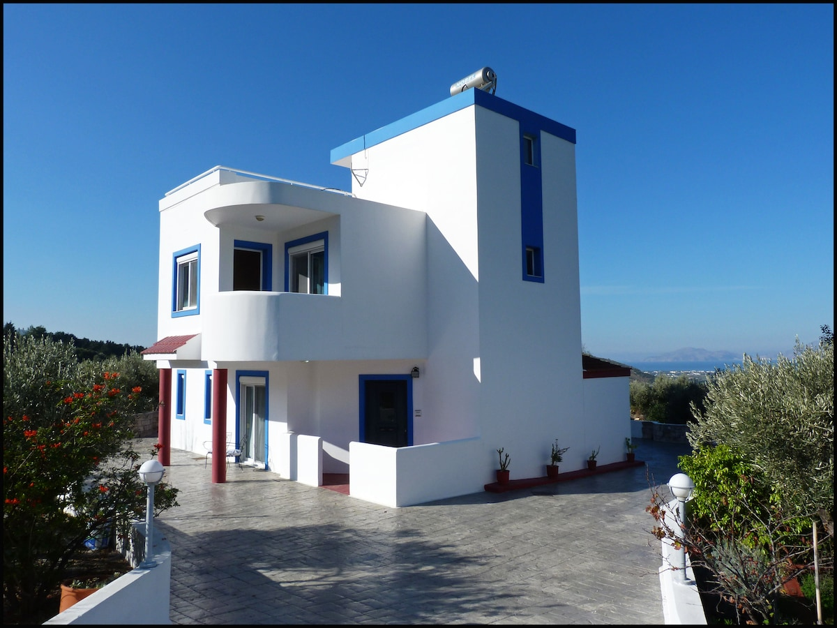 Front view of house - plenty of private parking