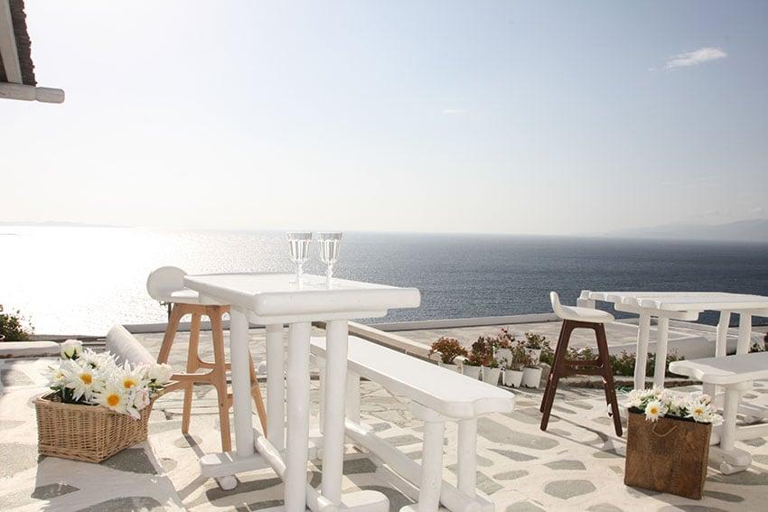 Studio Mykonos View with patio 2