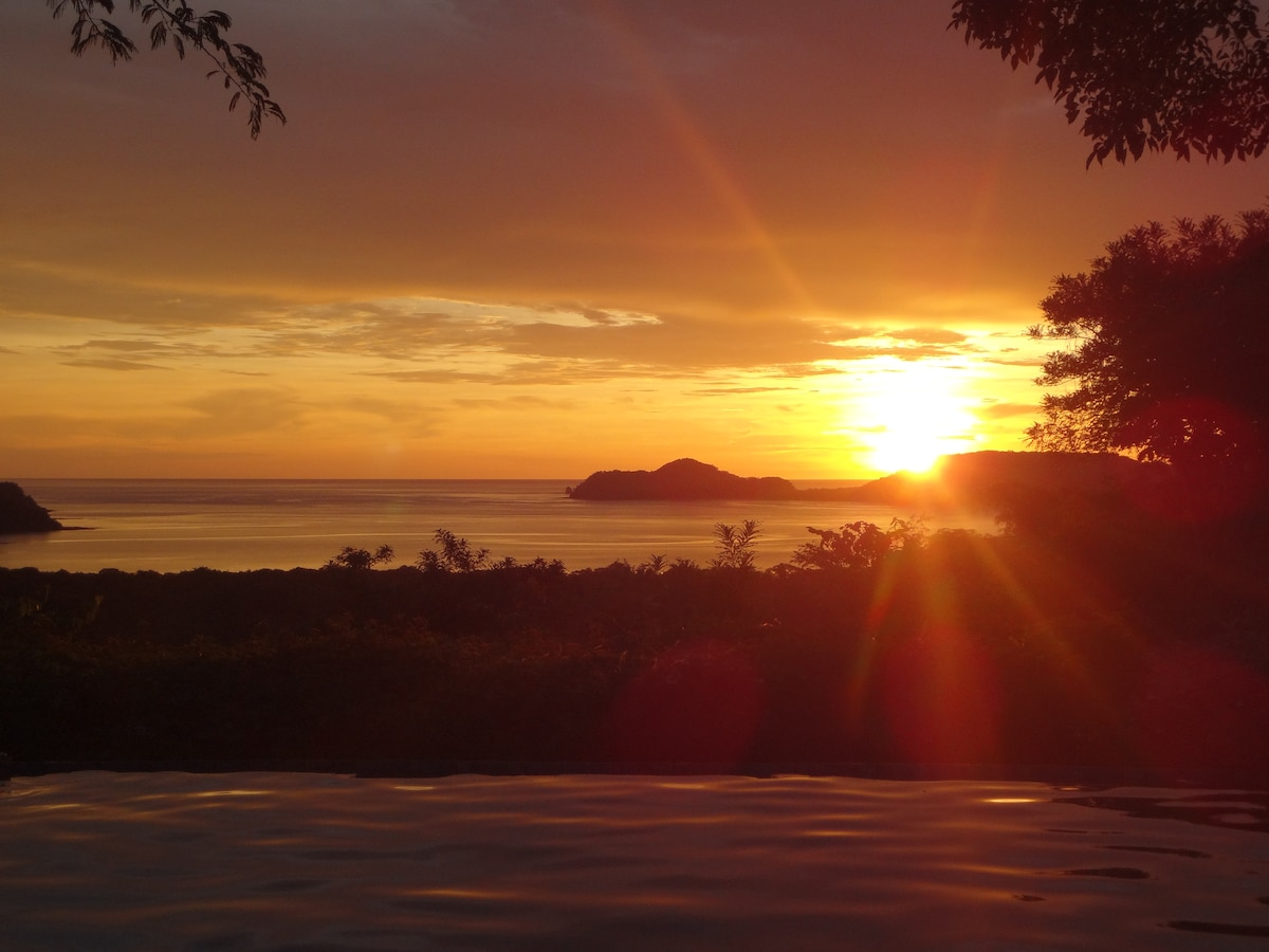The sunsets from the pool are spectacular!