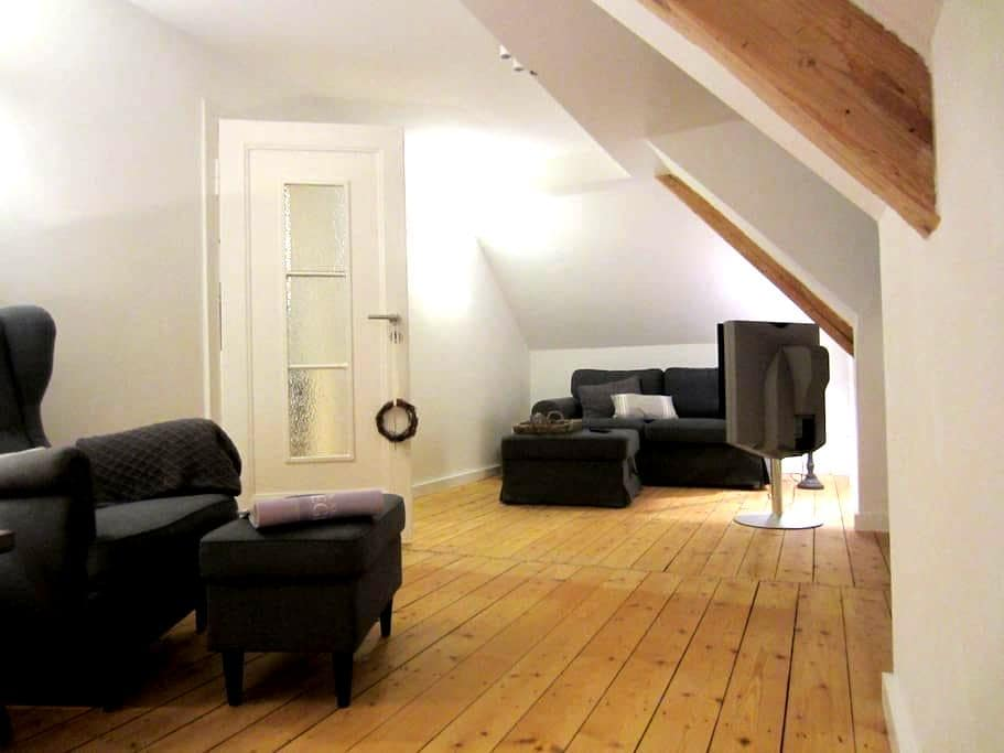 Helles Altbau-Dachgeschoss | 45 m² | 2,5-Zimmer - Darmstadt