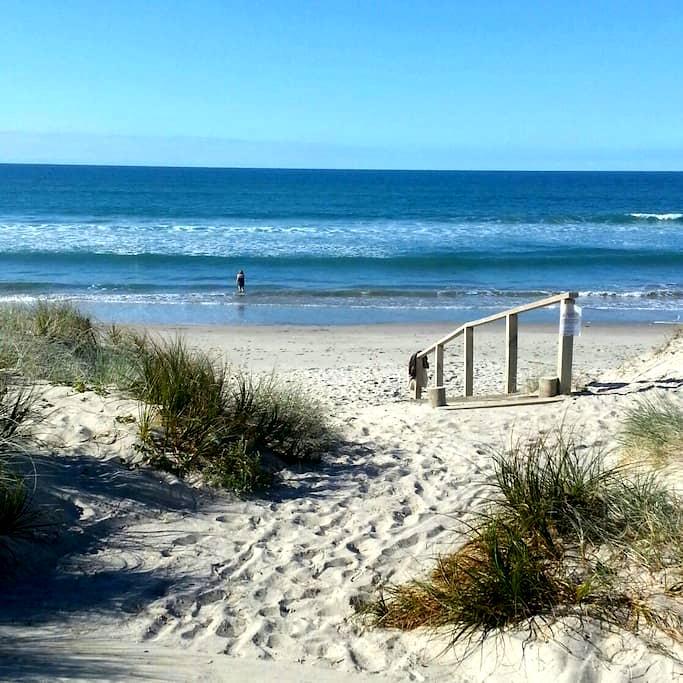 Hop, skip and jump to the beach - Tauranga