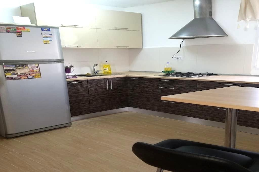 NICE APARTMENT FOR FAMILY, FRIENDS OR COUPLE - Hayfa - Daire