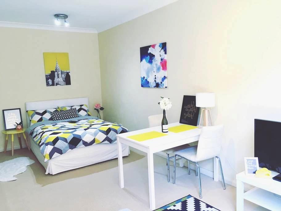 Sydney CBD-Lovely Studio &Free Wifi - Chippendale - Departamento