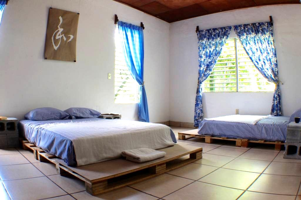 107 APT. |Big Bed in a Sunny Room With Garden View - Managua - Haus