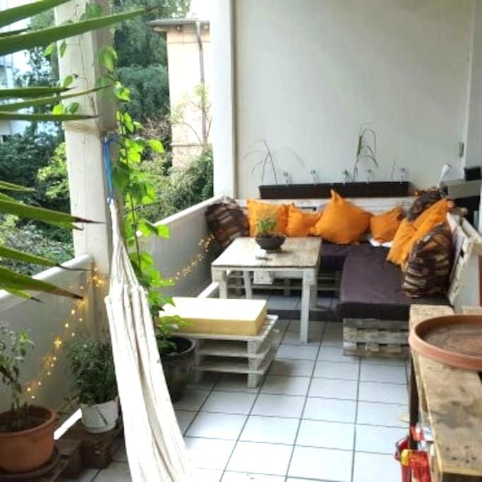 Big Room With Balcony, Centre - Hannover - Apartamento