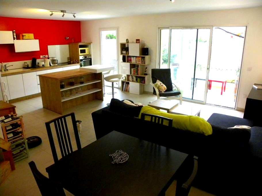 Grand appartement calme et fonctionnel avec jardin - Tain-l'Hermitage - Osakehuoneisto