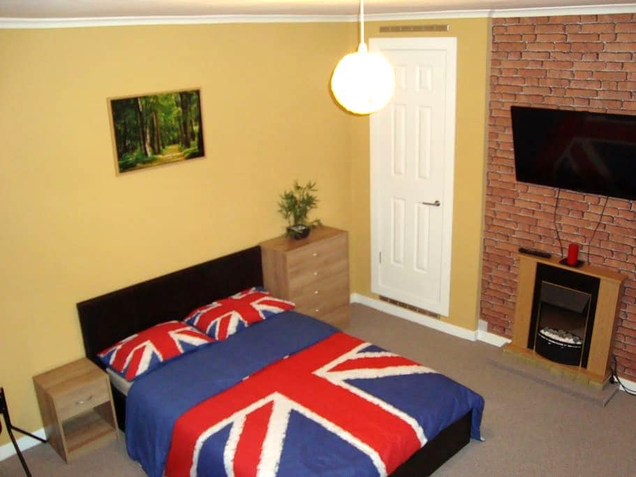 Double Room / 7 min from Glasgow Airport (Paisley) - Paisley