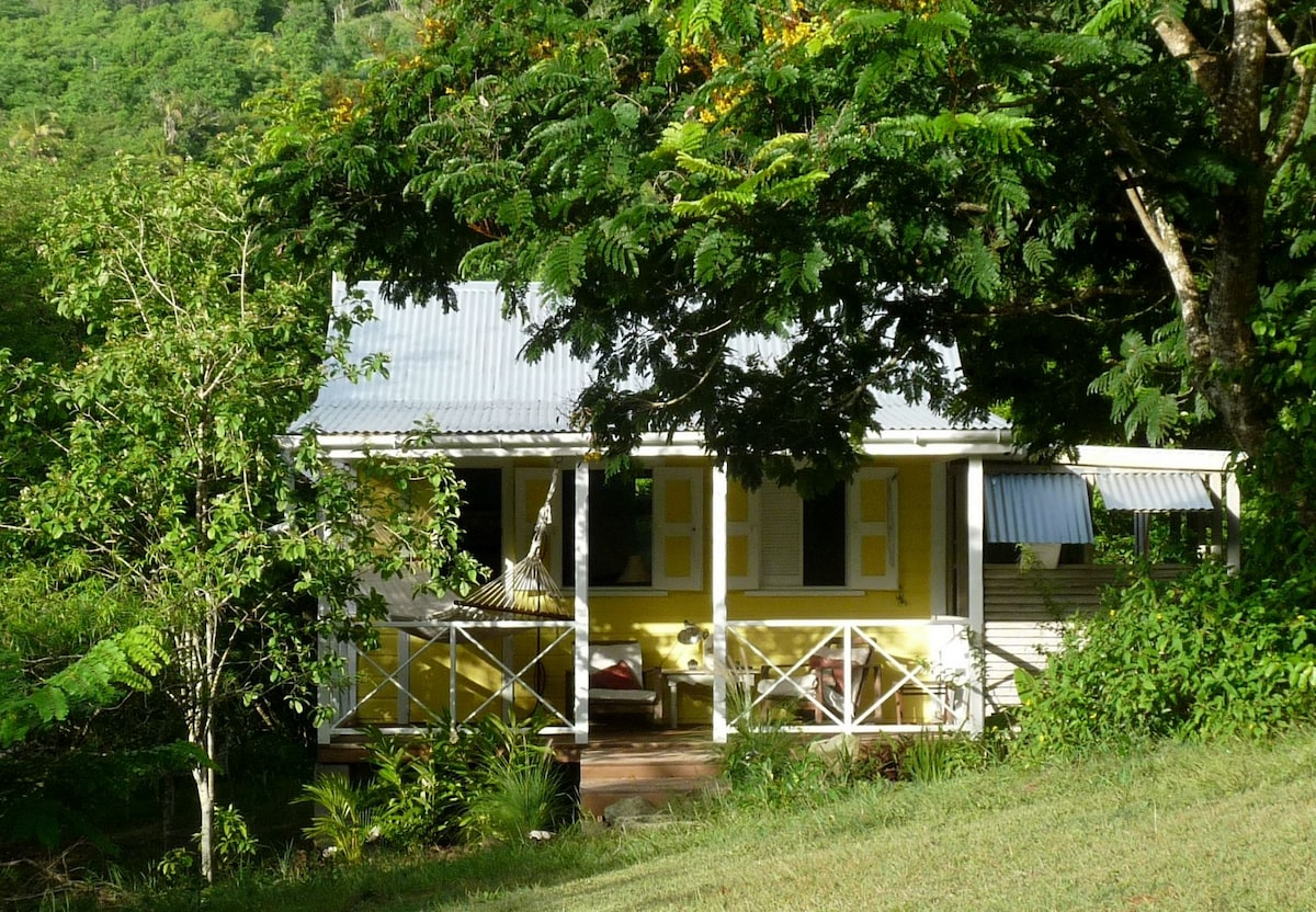 The eco cottage at Tranquil Farm, Antigua