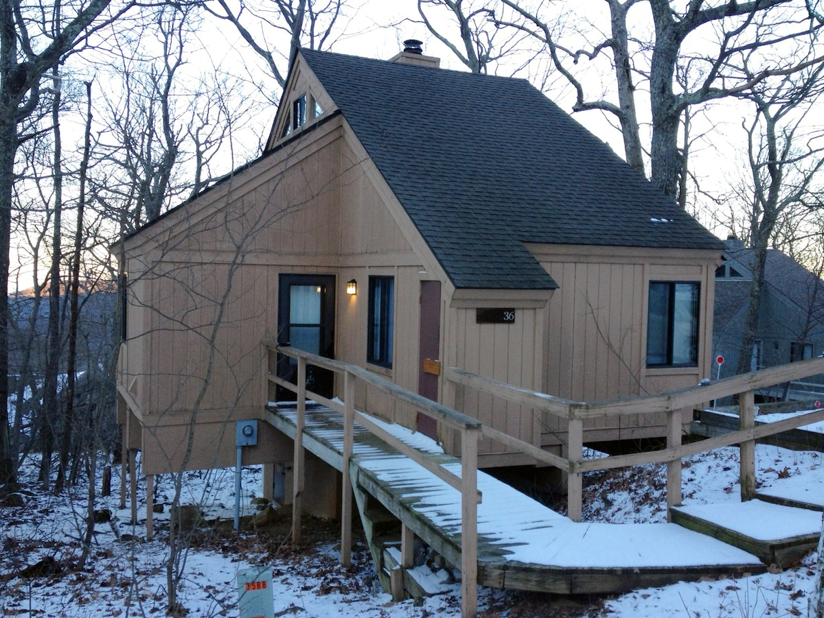 Our cabin! (Winter)