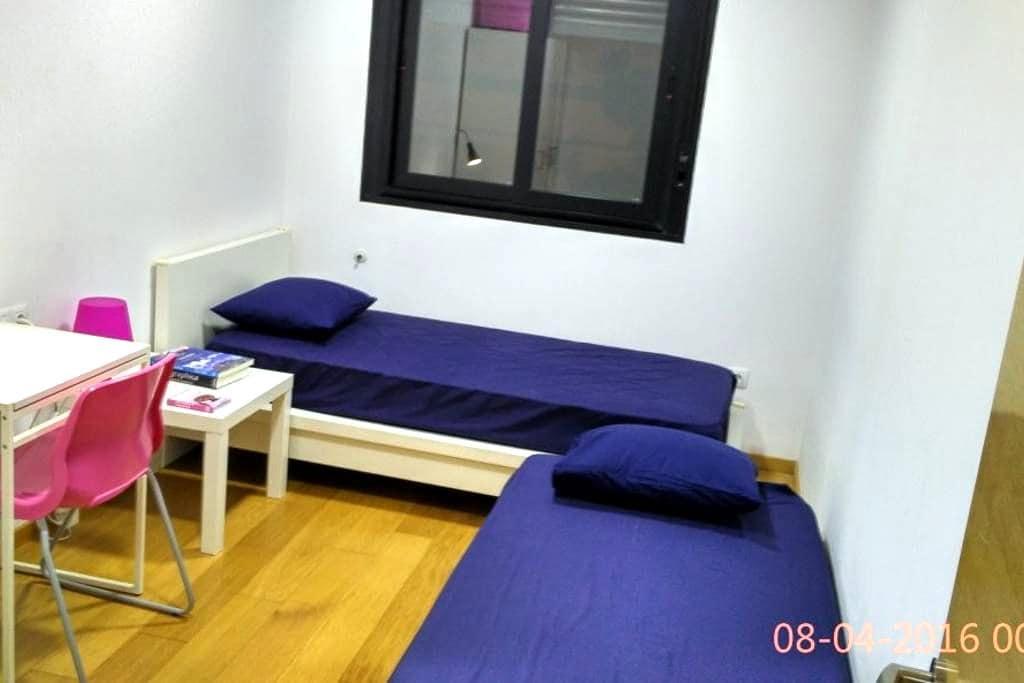 Habitación doble a 5 min. Renfe y El Corte Inglés - Castelló de la Plana - Apartment