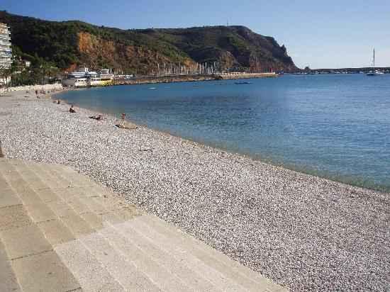 Javea's beach