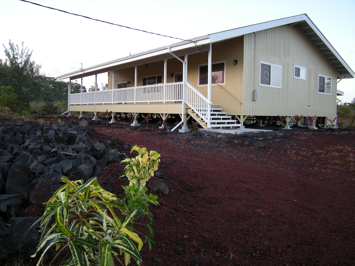 Open floor plan home with large Lanai to enjoy the tropical breezes.