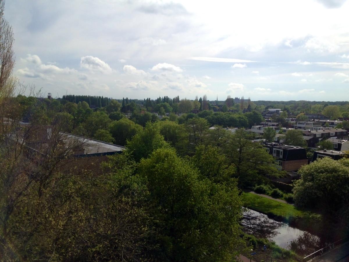 Overview from Amstelveen