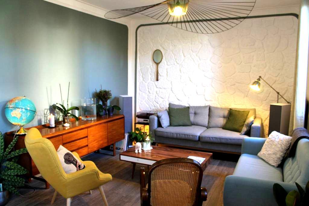 Charming & calm Blue House - Argenteuil - Haus