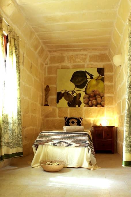 Single Room in authentic Gozo-Farmhouse - L-Għarb