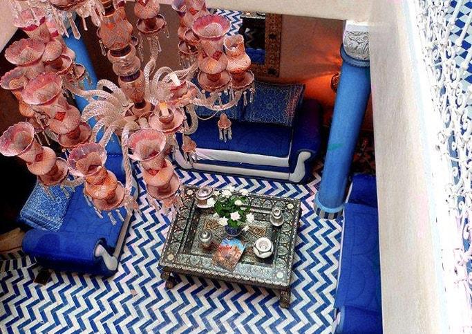 Petit salon bleu