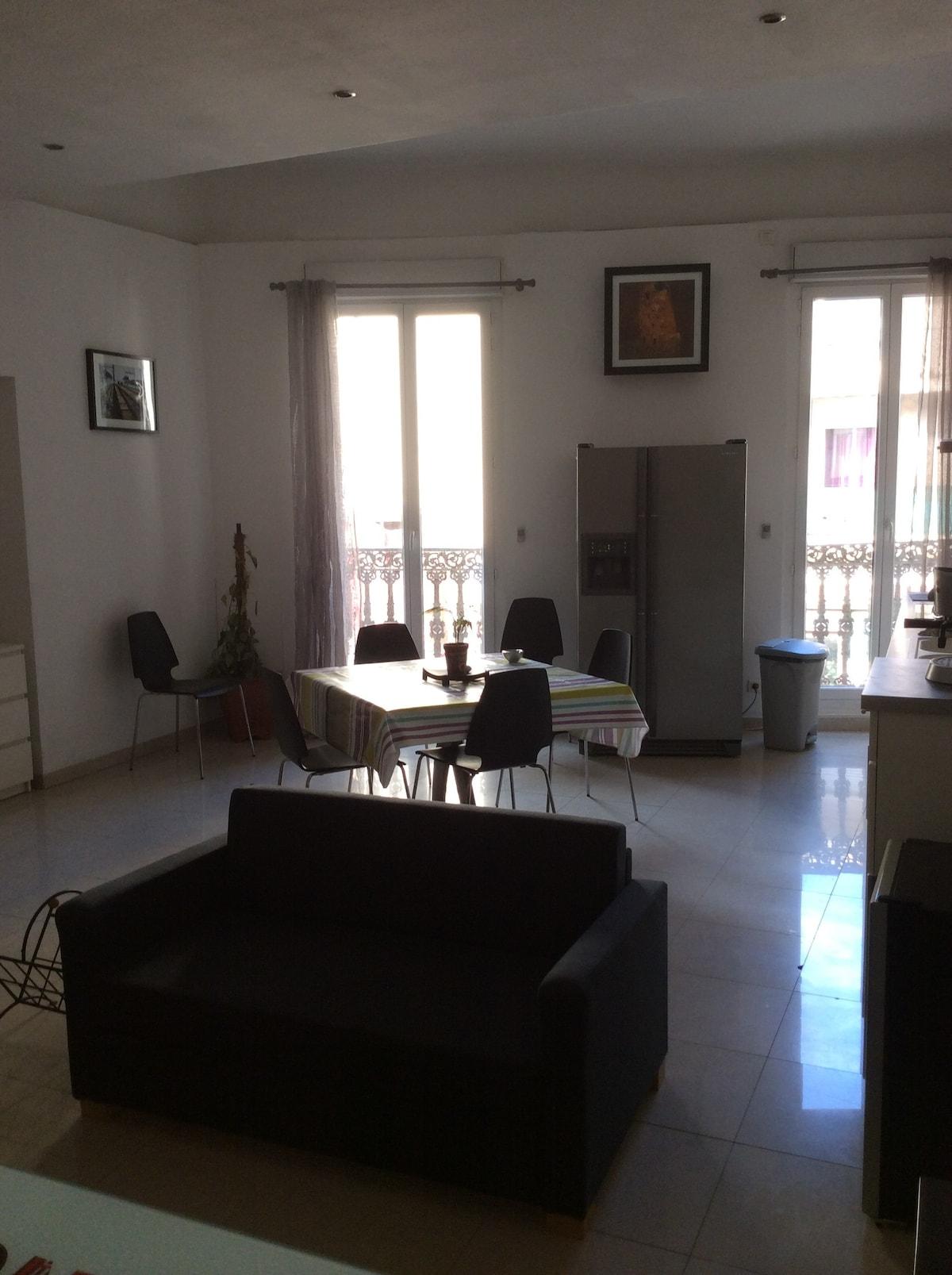 Appartement T3 spacieux et moderne