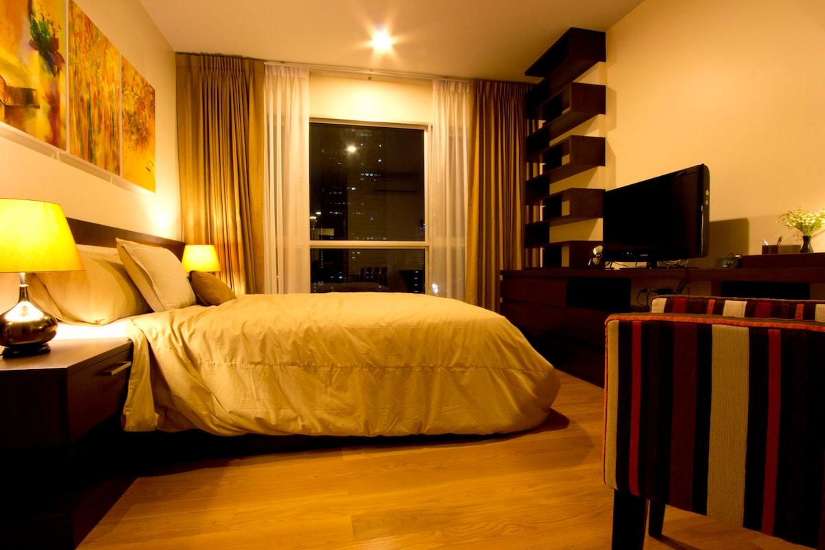 cozy bedroom for a good night sleep