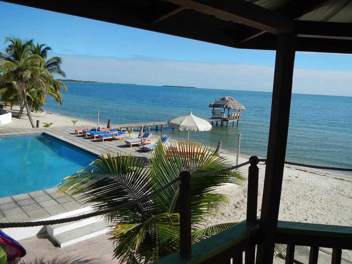 Sea Side Villa on the Caribbean