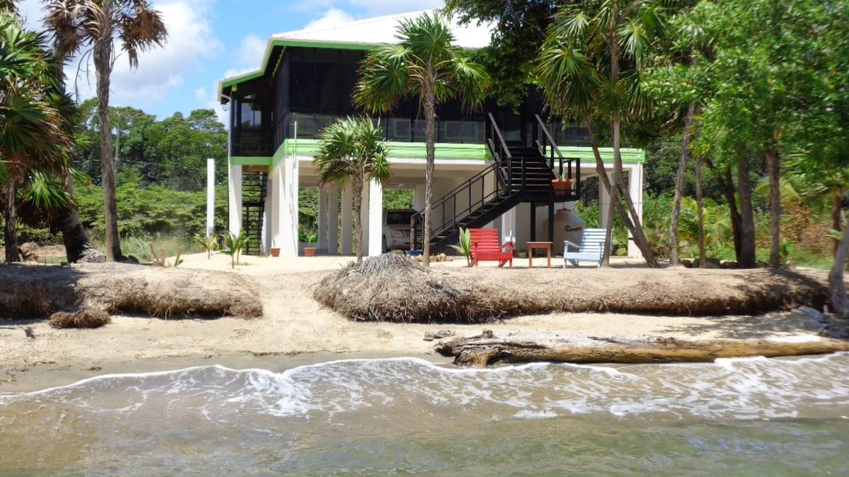 Beachfront Rental Sunrise Cabana