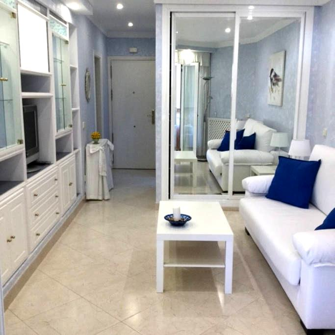 ELEGANT STUDIO FIRST LINE BEACH BENALMADENA - Benalmádena - Wohnung