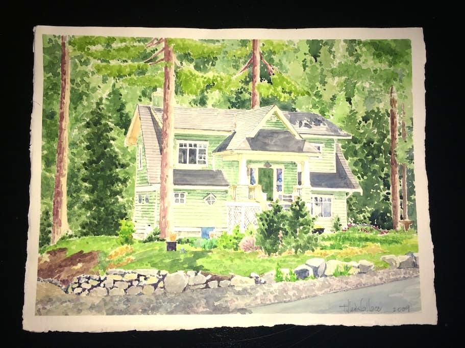 A Beautiful Craftsman View Home on Two Acres. - Bowen Island
