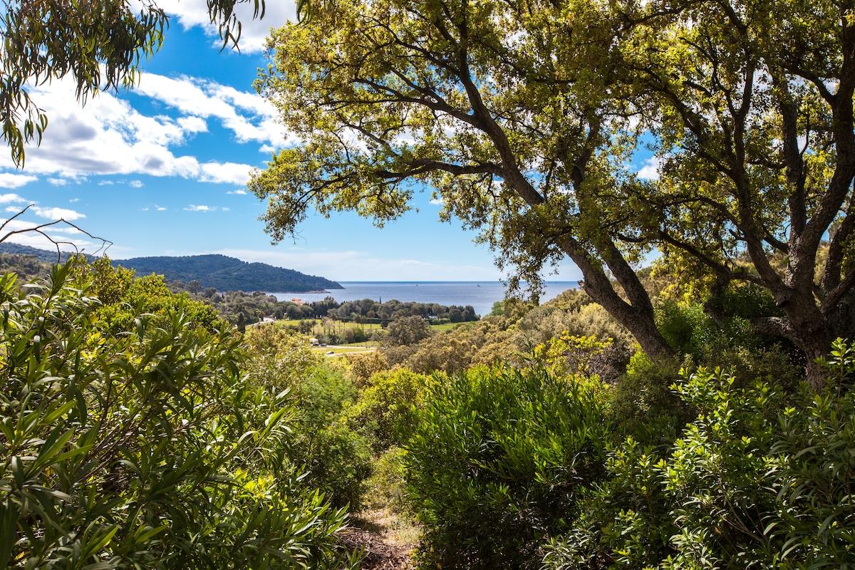 Villa Sea View Croix Valmer Gigaro