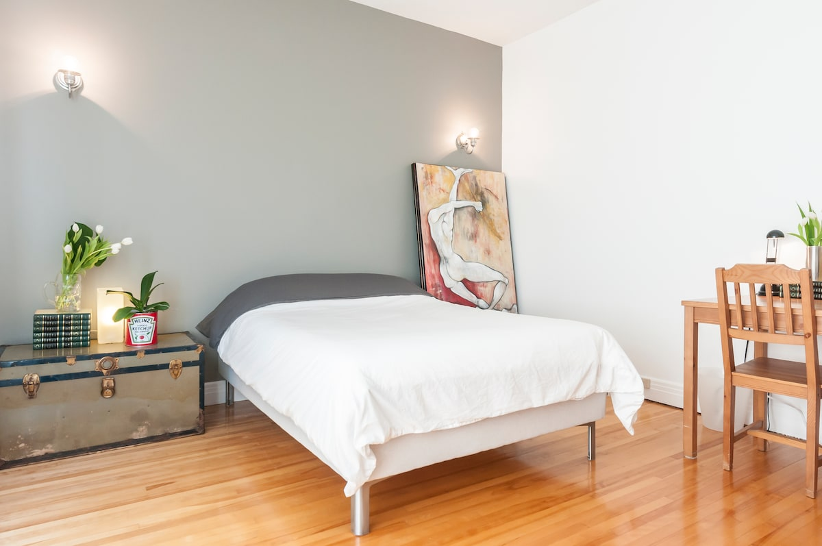 Private room near Montreal (2-4ppl)