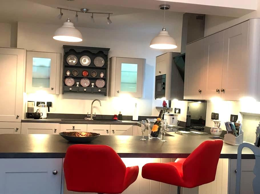 Beautiful Apartment close to Nefyn beach - Nefyn - Appartement
