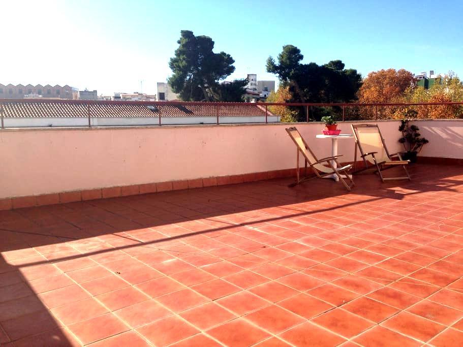 Apartment with terrace in Mérida - Mérida - Daire