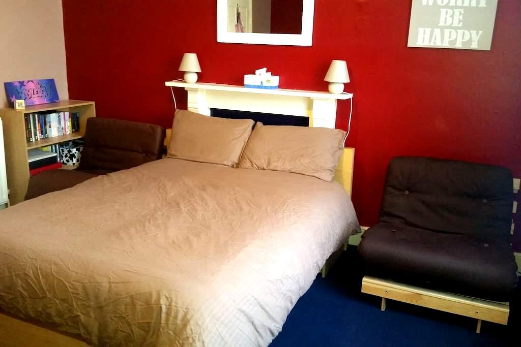 1b.A Large room sleeps 4 inc b'fast - Wolverhampton  - Ház