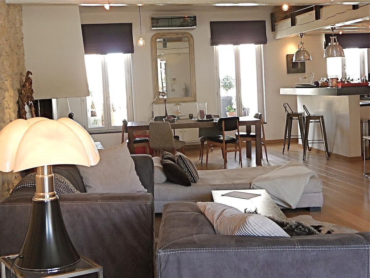 Loft/terrace at the heart Marseille