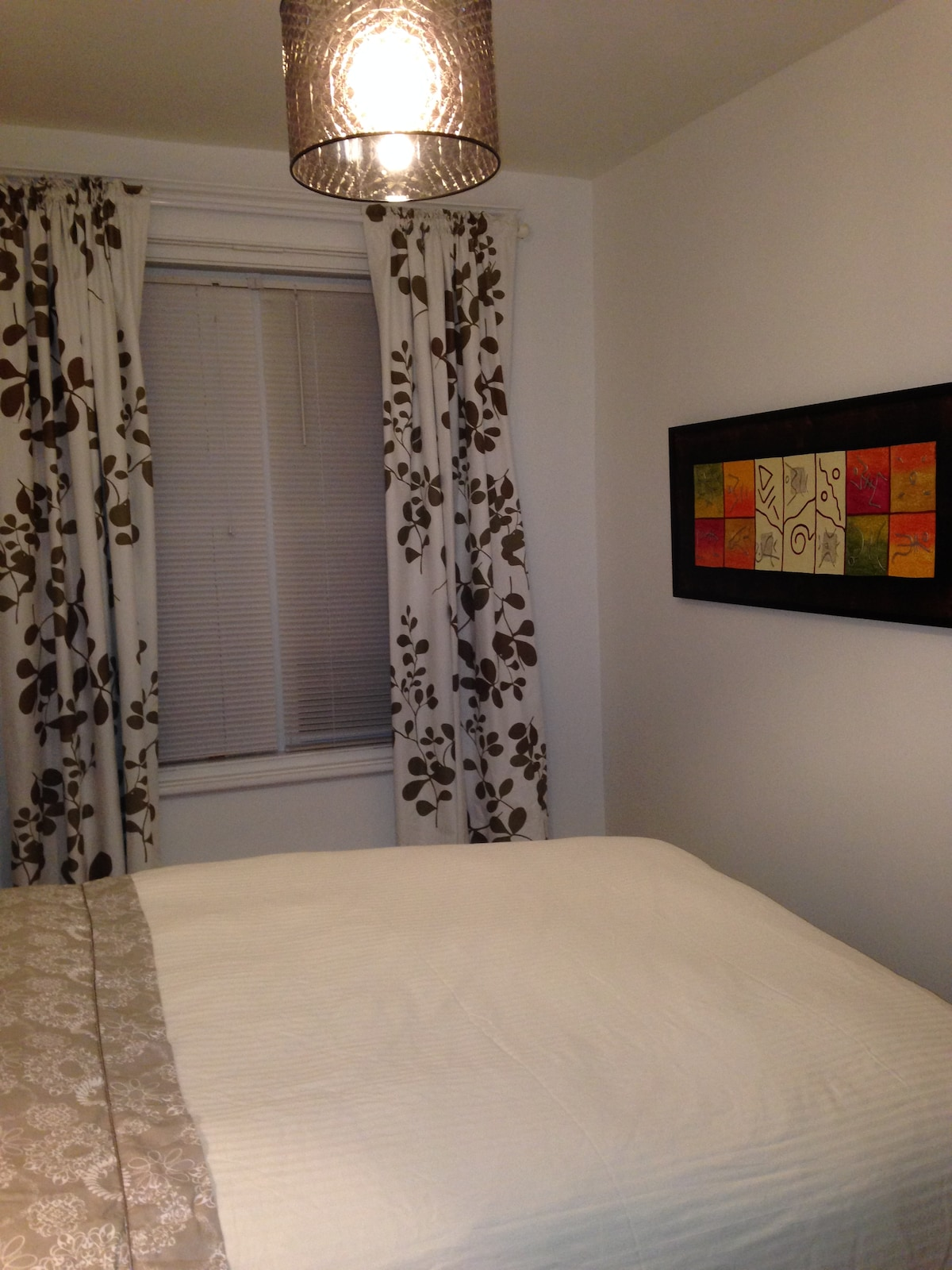 Very quiet residential area, bedroom 1